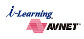 i-Learning Avnet 提携ロゴ